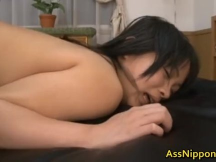 Hikaru Momose has steamy ass fuck