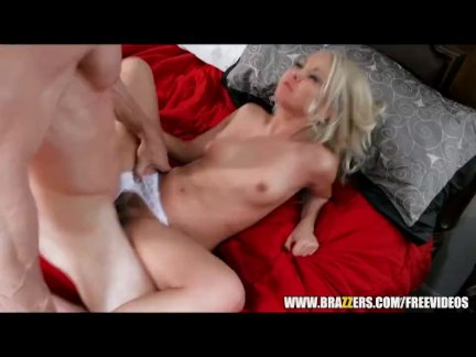 Perky blonde beauty seduces a virgin - brazzers