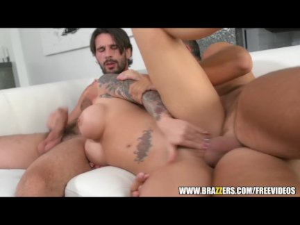 Christy Mack is double penetrated - brazzers