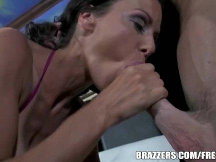 Big tit Latina MILF fucks a cop - brazzers