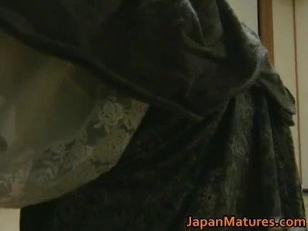 Mature nipponjin foxy enjoys intercourse