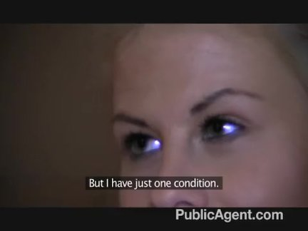 PublicAgent - Partners in Porn trick blonde