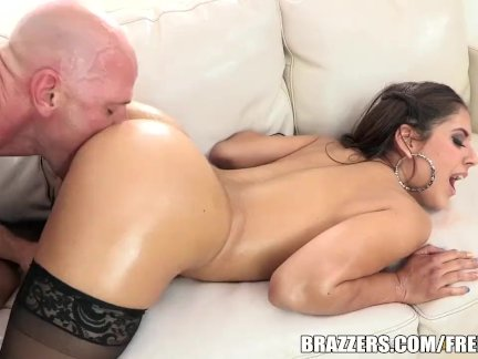 Jynx works it for the camera - brazzers