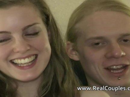 Real teen couple