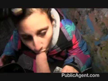 PublicAgent - Yana the street dancer fucks