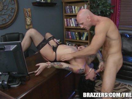 Darling Danika loves rough office - brazzers