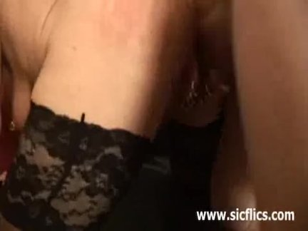 Extreme slut fisted in her monster pierced va