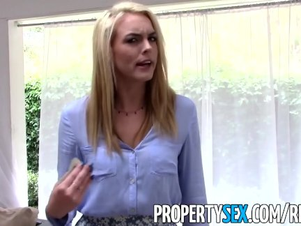 PropertySex - Trick hot realtor into fucking