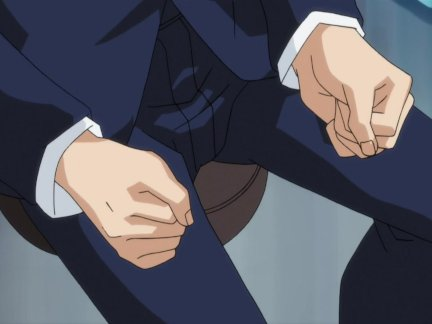Hentai babe gets fondled and fingered