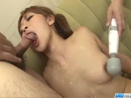 Koda Riri Japanese mom fucked by horny lads