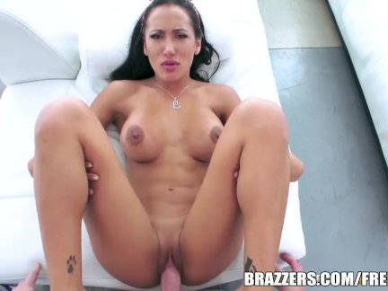 Amia Miley is a dirty lil maid - Brazzers
