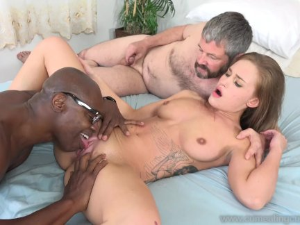 April Brookes Worked By Black Cock
