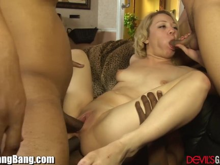 Gangbang Anal Creampie for Straigt up Slut