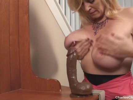 Hot MILF Charlee Chase Horny for BBC Toy