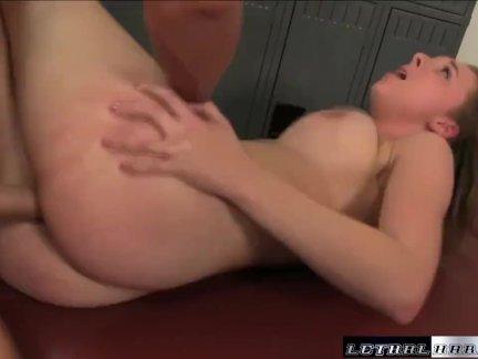Brooke Wylde big tit massage hard fuck