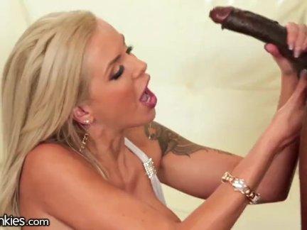 MILF Nina Elle Cuckold with Huge Black Cock