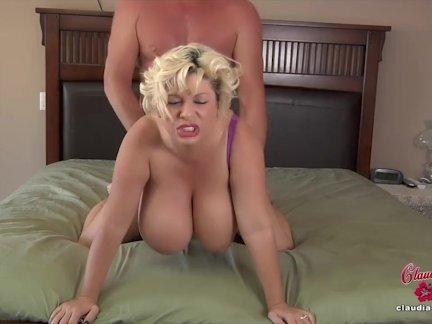 Порно с волосатой клаудией марие
