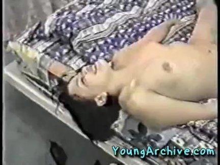Mature mom seducing young girl part 1