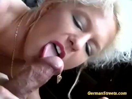 Любители немецкого секса на улице