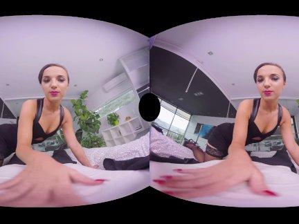 ლ(▀̿̿Ĺ̯̿̿▀̿ლ) Porno Realidade Virtual Com Novinha Pagando Boquete