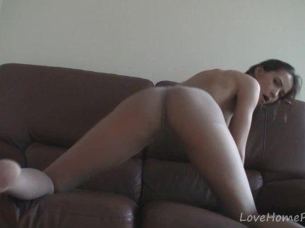 Одел себе колготки и трахнул порно видео