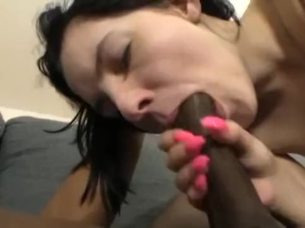 Baby Doll Tries 1st BBC (Extra Sauce With Pizza Delivery)