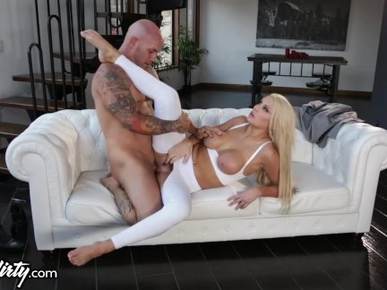 PrettyDirty Daddy Rips open Step-Daughters Pants