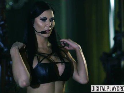 Stocking attired MILF fetish model Jasmine Jae stars in MILF BDSM sex scene  1603250