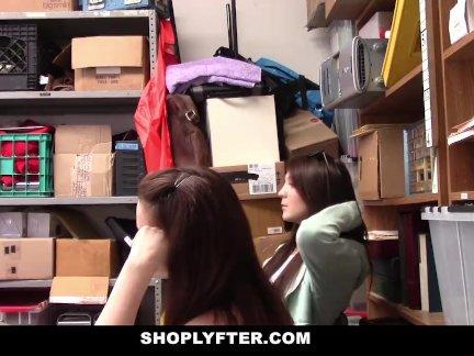 Shoplyfter- Hot Teens Fuck Stranger In Exchange of Freedom