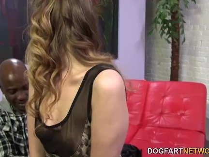 BBC And Anal Slut Sasha Swift Is Afraid For Her Ass