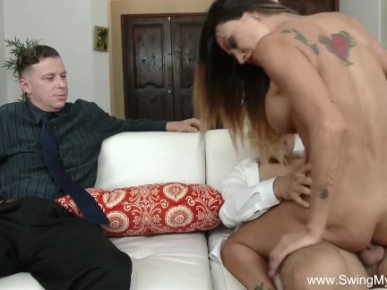 Tattoo Slut MILF Cuckold Sex