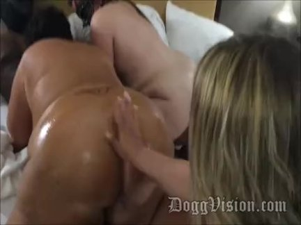 Young BBC Fucks Big Butt BBW Squirt Sisters