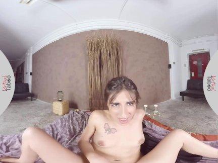 ლ(▀̿̿Ĺ̯̿̿▀̿ლ) Mulher Pelada Grava Sexo Realidade Virtual Tocando Siririca Escondida Do Marido