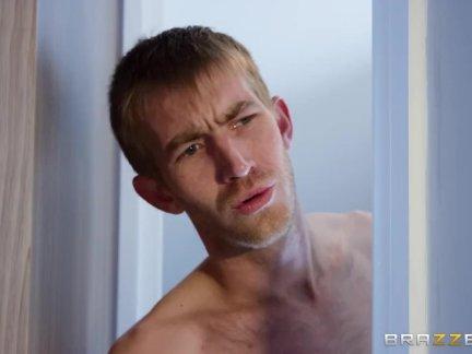 Teen Slut Fucks Two Big Cocks - Brazzers