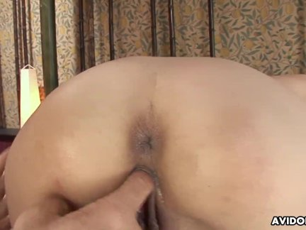 Miina rides a cock like a real slut that she really is