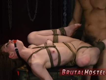 Punish fuck hard anal bdsm pain bondage
