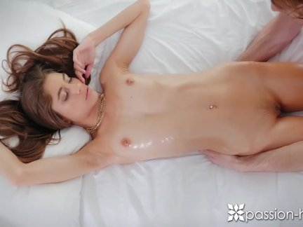 PASSION-HD Lean brunette Rebel Lynn fucked after massage