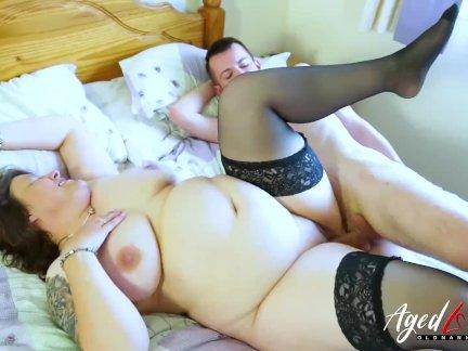 AgedLovE Busty Mature Hardcore Suck and Fuck