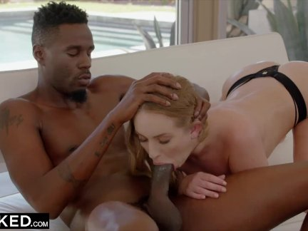 BLACKED Huge Ass Takes Her Neighbors BBC
