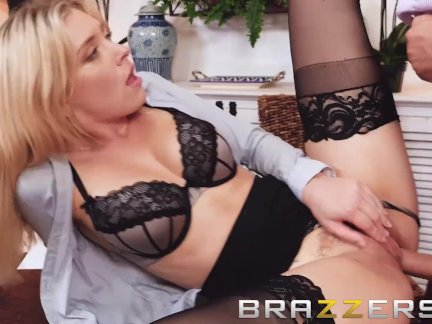 Brazzers - Giselle Palmer gets pounded hard at work