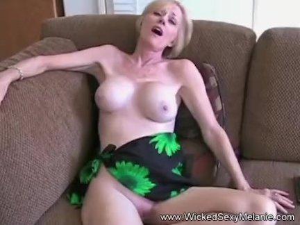 Grandma Blows and Fucks At Home