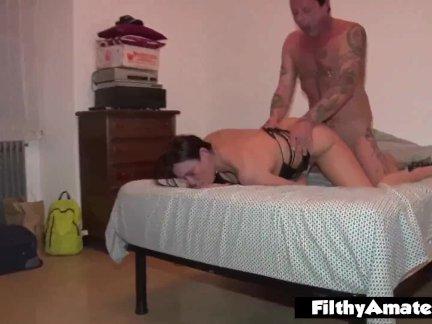 Cuban Milf Takes it Up the Ass! Perfect ass!
