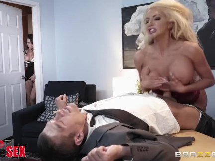 Brazzers Presents 1800 Phone Sex: Line 5, Nicolette Shea