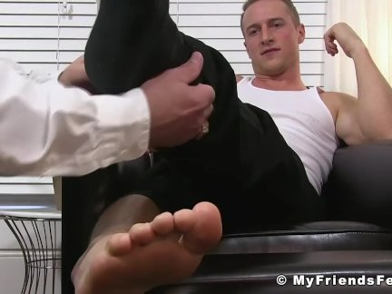 Bald hunk getting dominated hard