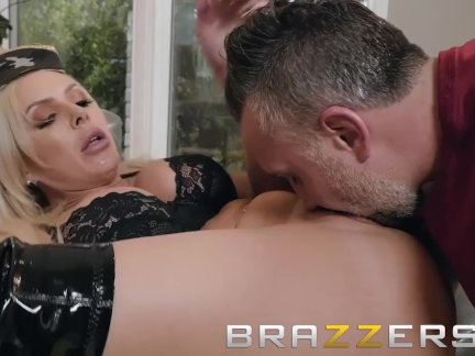 Brazzers - Army dom Nina Elle wants a big cock in her ass