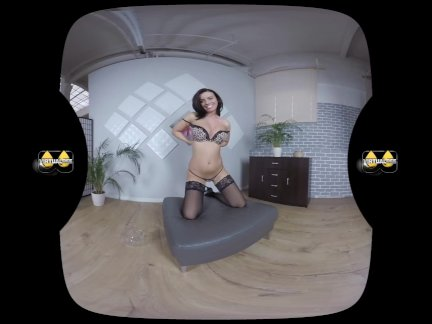 Virtualpee - Pissing In Stockings - VR Porn