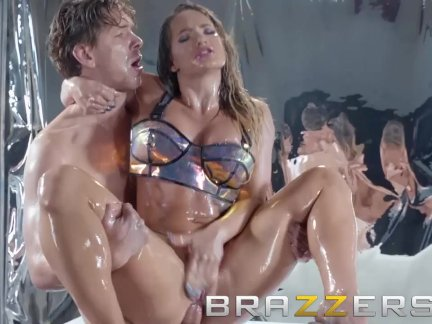 Brazzers - Cali Cartergets oiled up and ass fucked