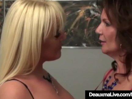Mature Lesbians Deauxma & Alexis Golden Fuck In BBC 4some!
