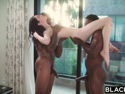 BLACKED Thrilling Threesome Compilation