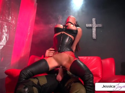 Jessica Jaymes is punished by Evan stone, big dick & big boobs